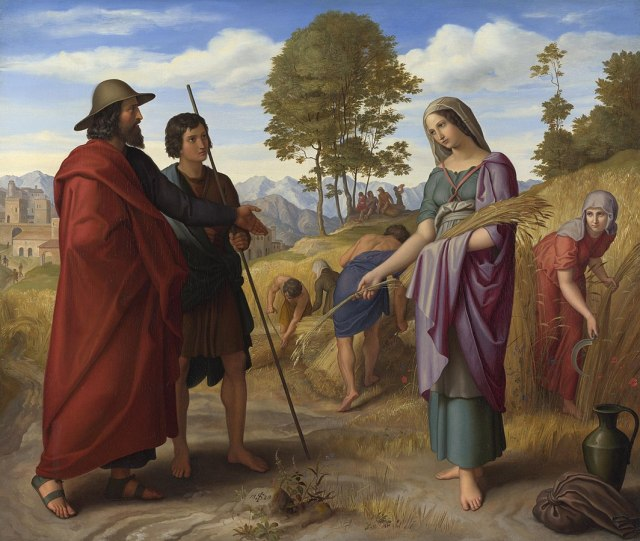 Julius Schnorr von Carolsfeld (1794–1872): Ruth in Boaz's Field, (1828)