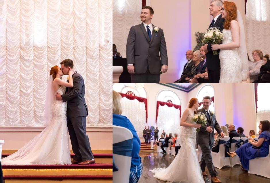 Brock & Renee's Ballroom Wedding
