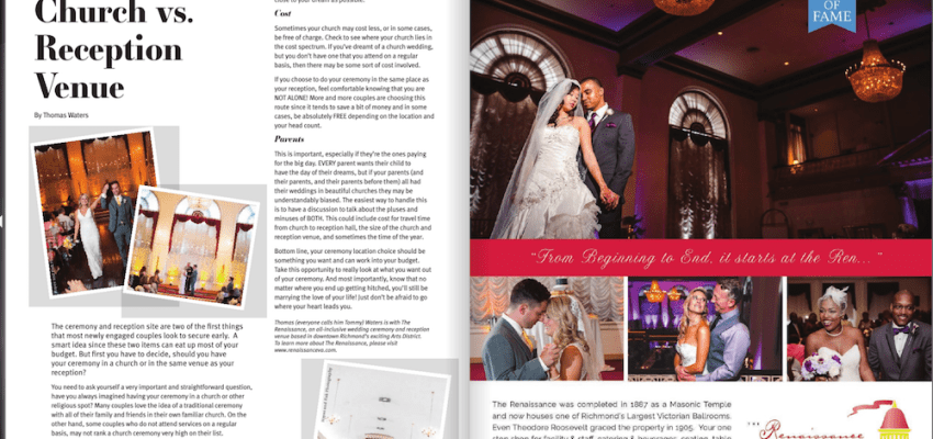 Featured: Richmond Weddings Magazine