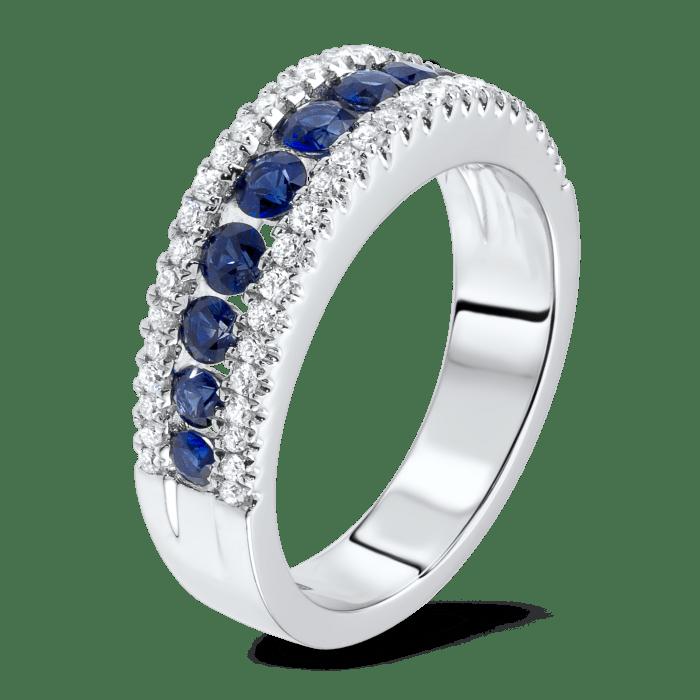 sapphire and diamond ring st thomas usvi