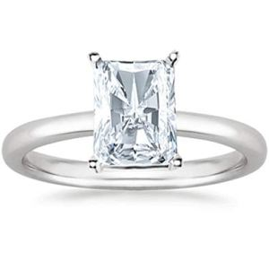 Radiant Cut Diamond Ring St, Thomas