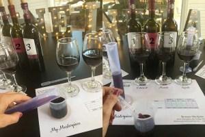 winery blending class