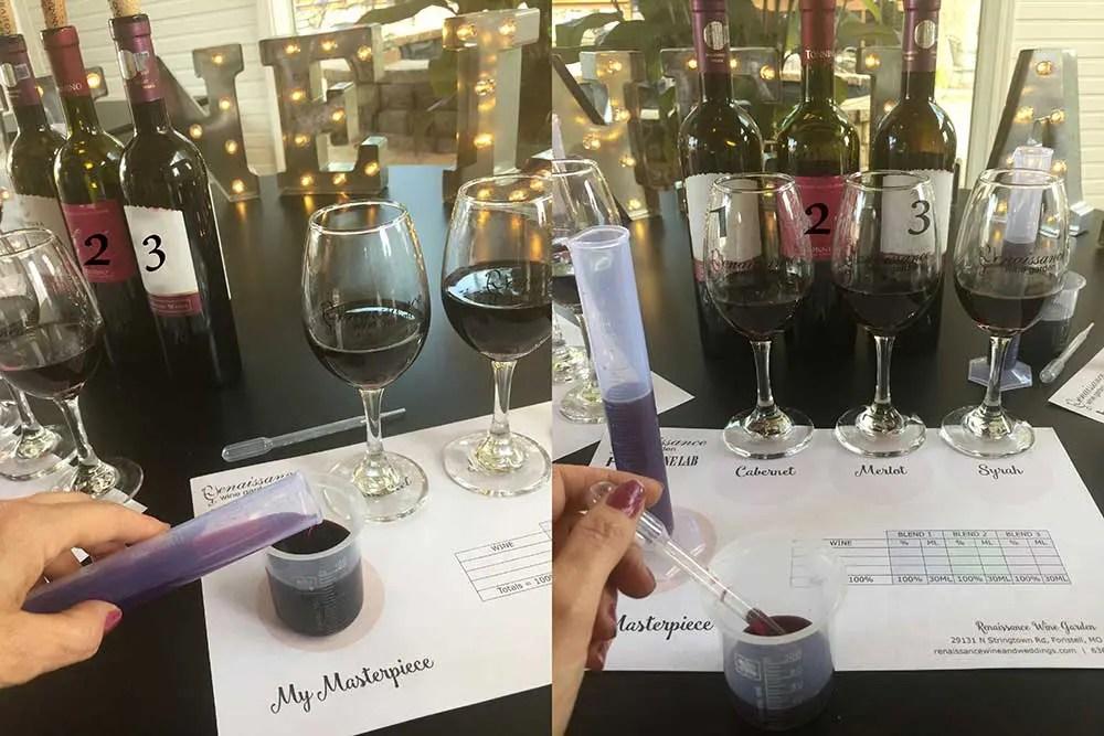winery blending class st louis missouri