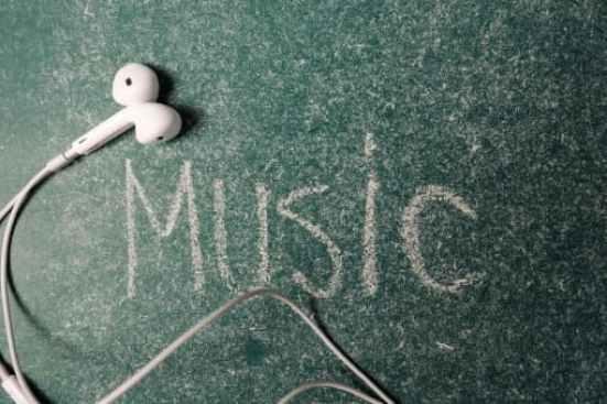 音楽が共通の趣味