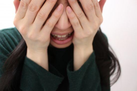 好きだっただけ。泣く女性