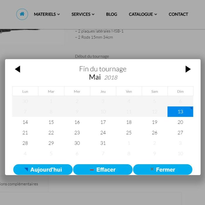 WooCommerce booking development