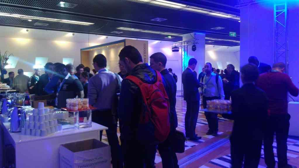 Paris 2017 Google Cloud Summit break