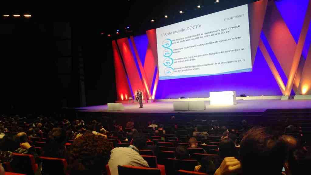 Paris 2017 Google Cloud Summit main stage