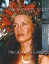 Rena Owen plays the mythological Warrior Woman