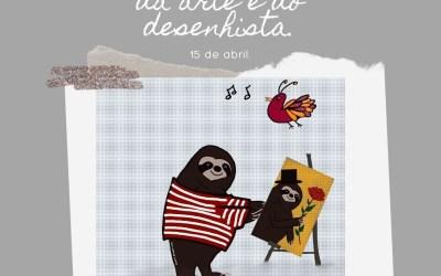 15 de abril, Dia Internacional da Arte e do Desenhista!