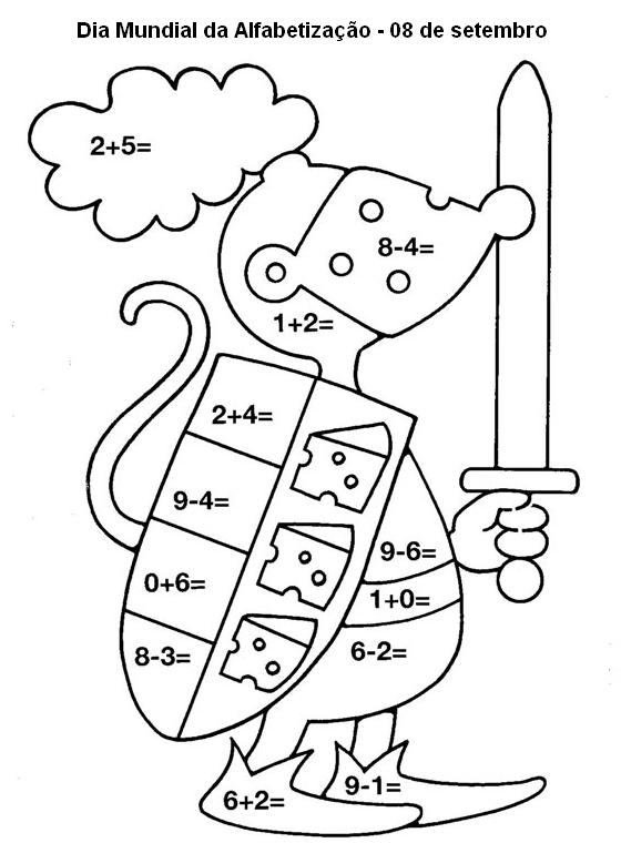 Atividades Matemática para pequenos
