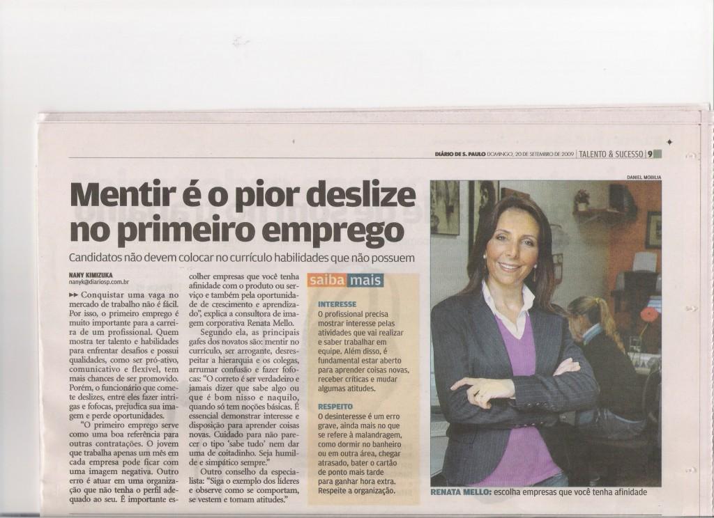 20/09/09 – Diário de S.Paulo