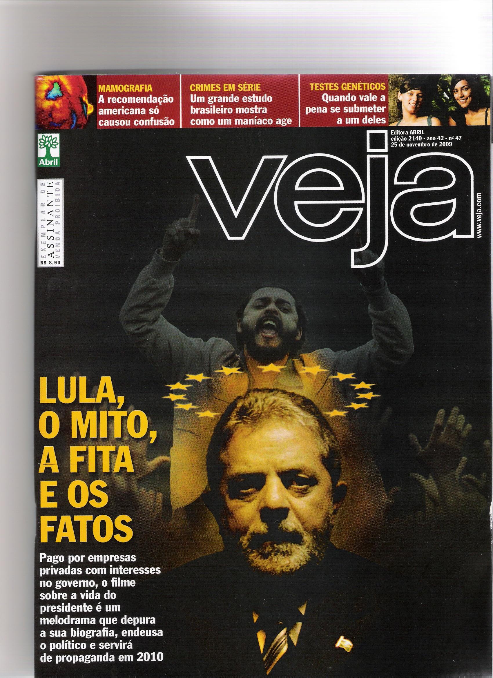 25/11/09 – Revista Veja