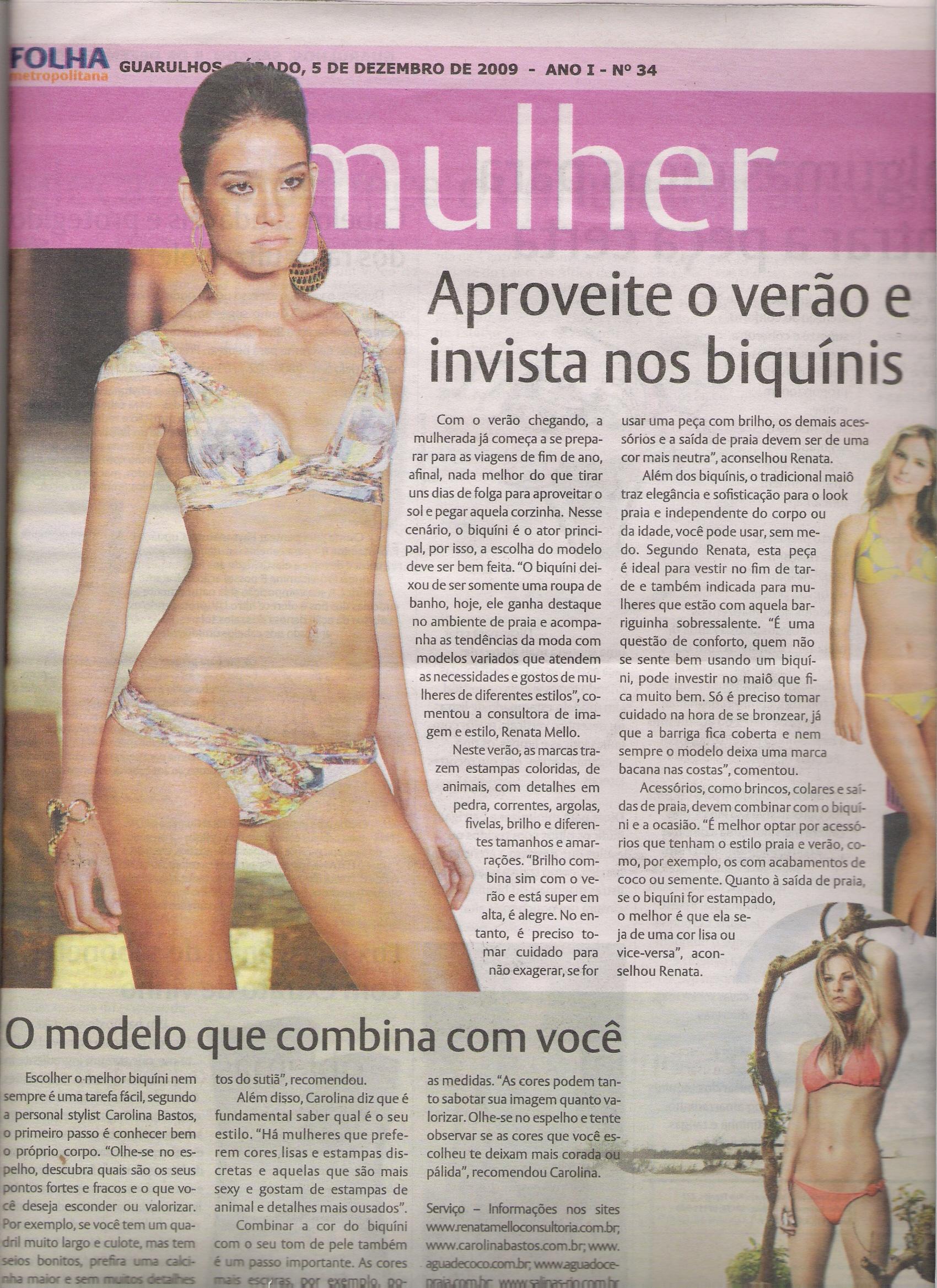 05/12/09 – Folha Metropolitana – Guarulhos