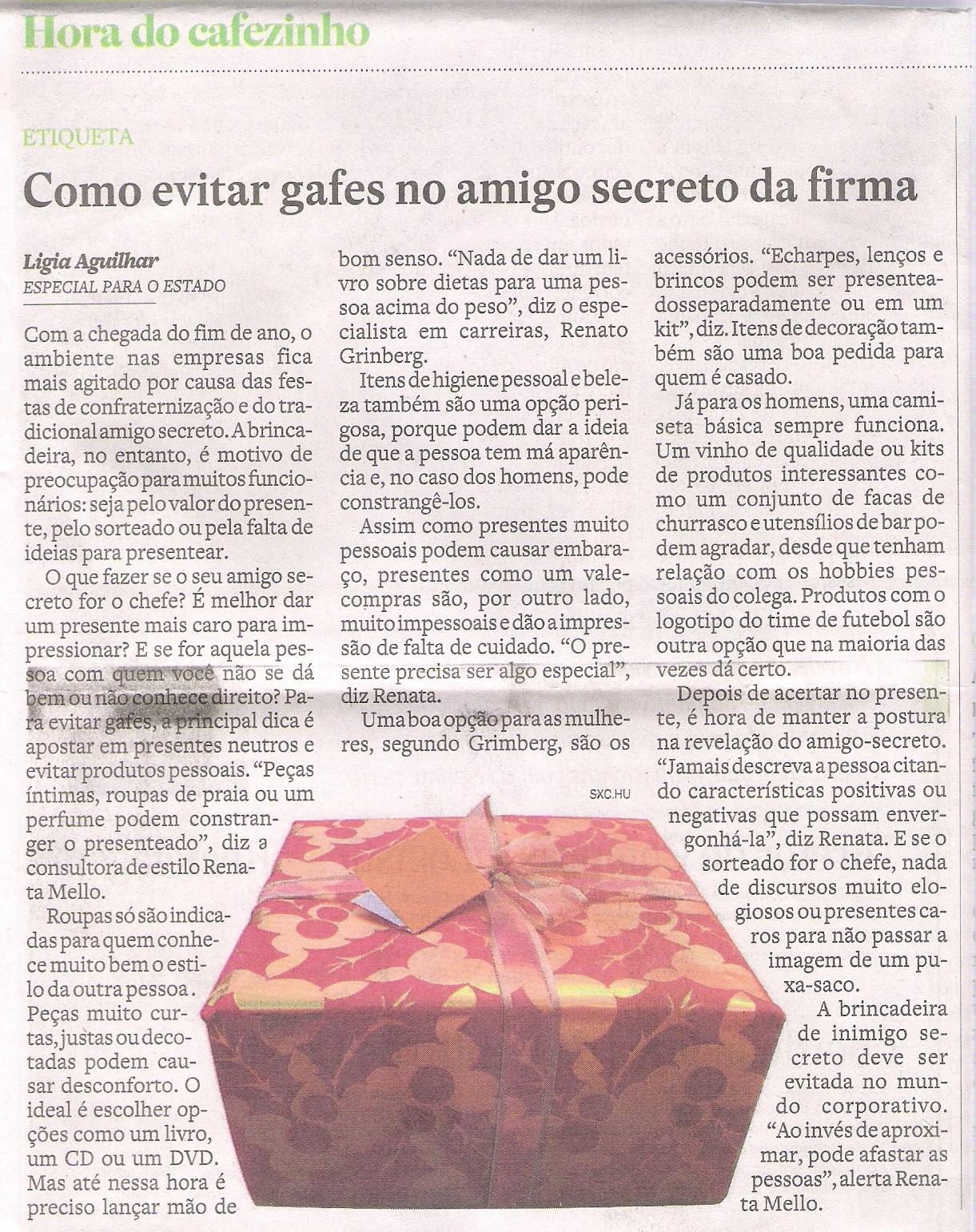 28/11/10 – O Estado de S.Paulo