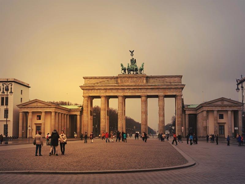 Portão de Branderburgo em Berlim, na Alemanha