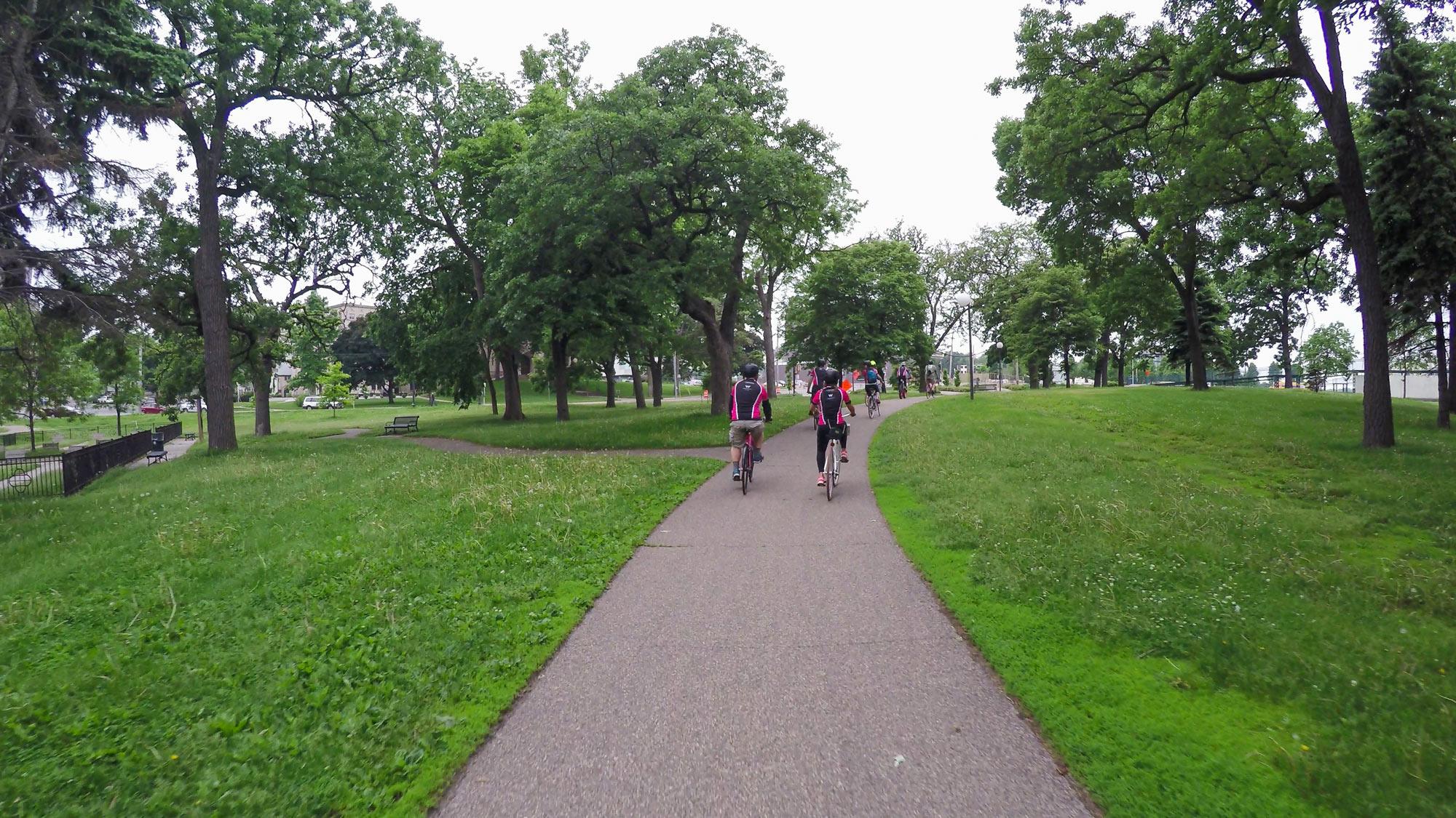 Bicycling Tour with W Minneapolis The Foshay