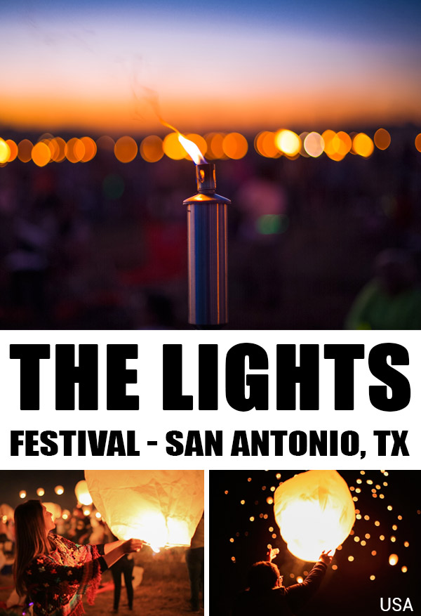 Experiencing the Lights Festival in San Antonio, Texas