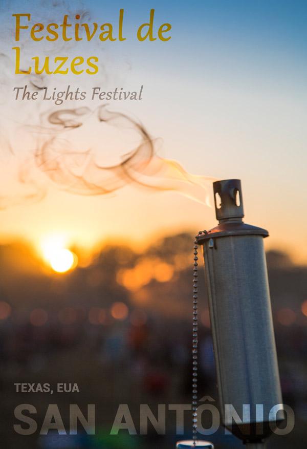 Festival de Luzes em San Antônio, no Texas