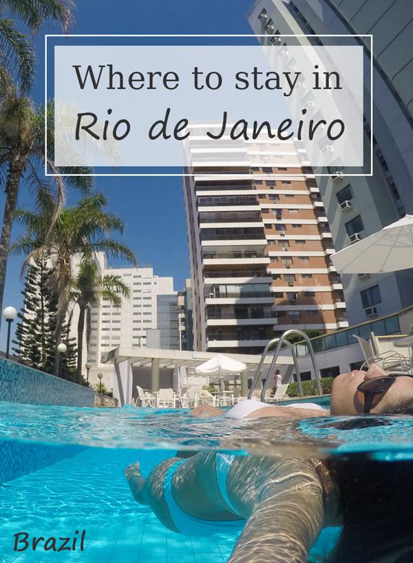Where to stay in Rio de Janeiro