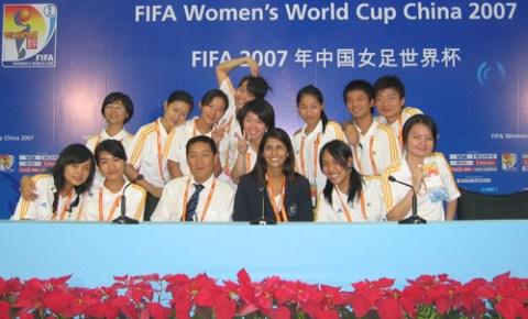Voluntários e nomes próprios na China