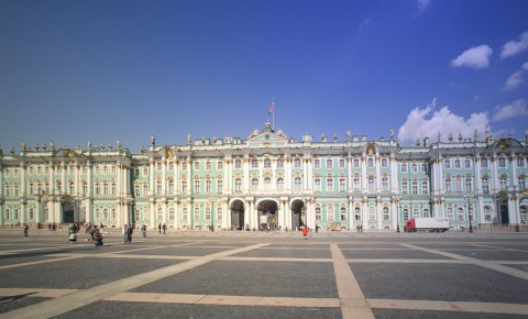 Museu Hermitage em São Petersburgo, na Rússia