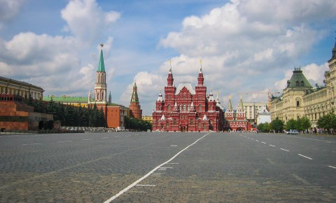 Understanding the Red Square in Moscow