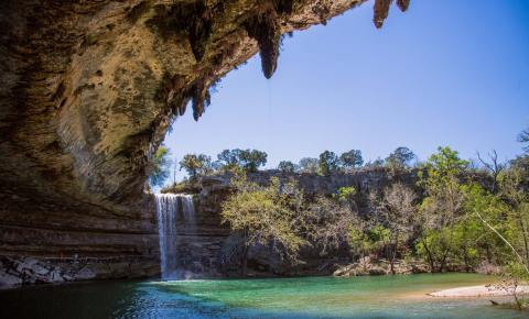 Hamilton Pool, Central Texas