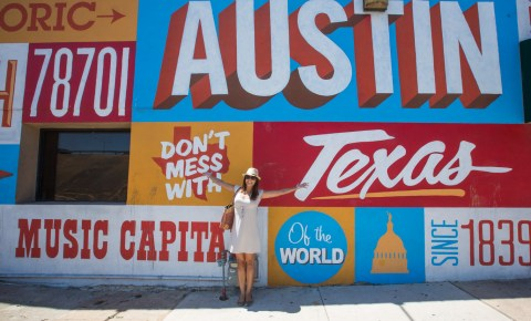 Downtown Austin Art Wall