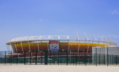 Olympic Arena in Rio de Janeiro