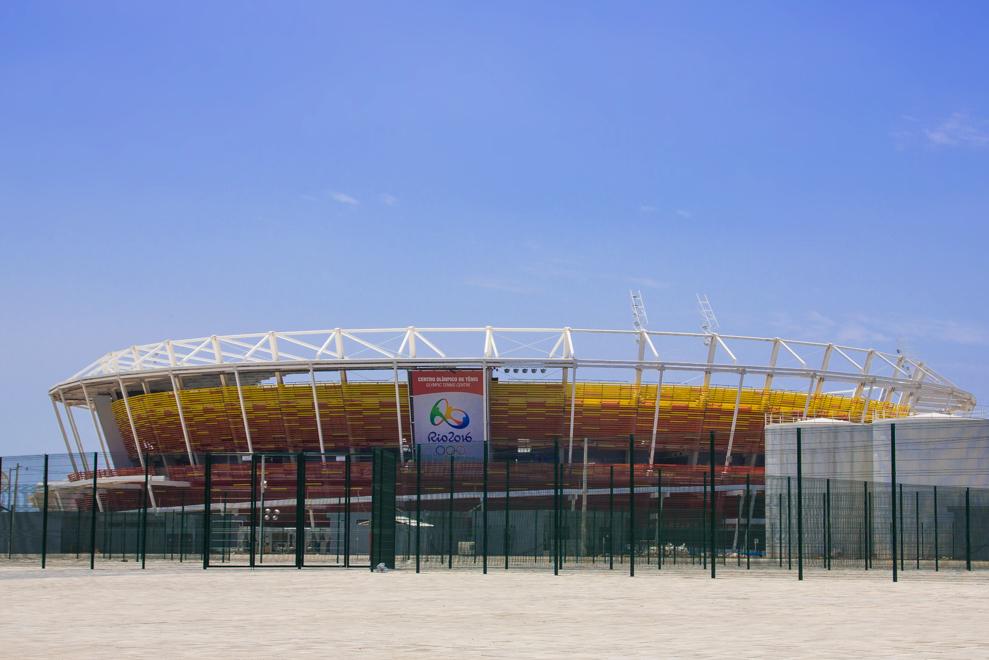 Olympic Arena in Rio de Janeiro, Brazil