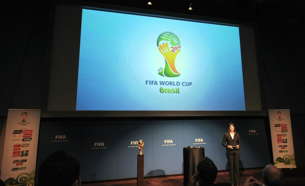 2014 FIFA World Cup match schedule announcement | Renata Pereira