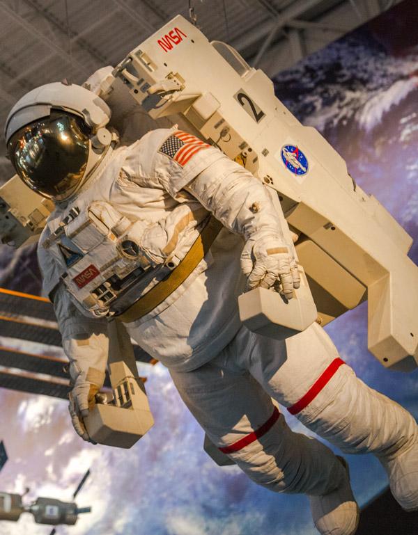 Space Center Houston perto do Johnson Space Center da NASA em Houston, no Texas