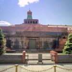 Visiting Lenin Mausoleum