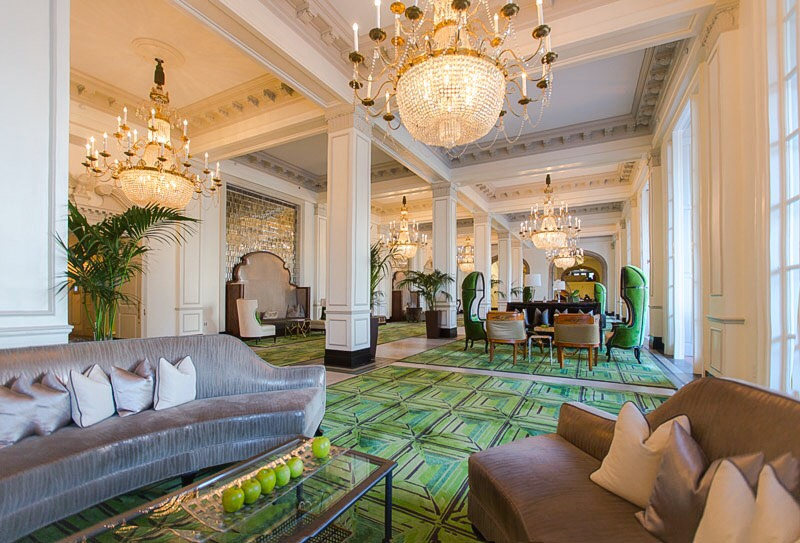 Lobby of The St Anthony Hotel, San Antonio Texas