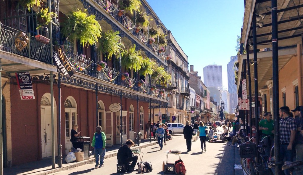 New Orleans' French Quarter