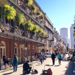 New Orleans' historic French Quarter