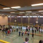 Zweifelderball - Turnier der 7. und 8. Klassen