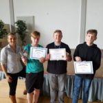 Siegerehrung des Sprachenwettbewerbs THE BIG CHALLENGE