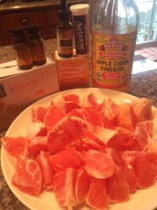 Grapefruit Bombs and Other Clinically Unproven Cold Remedies that WORKED for me.