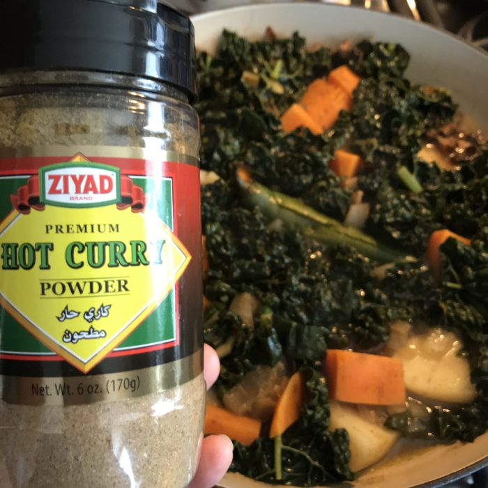 Manic Monday: 1-Pot Colorful Curried Kale Stew