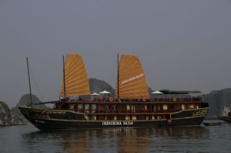"""Our Halong Bay """"Mother Ship"""" for the weekend"""