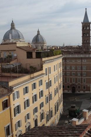 View from the Terrazza, Suore Elizabetta dell'Olmata, Rome, Italy