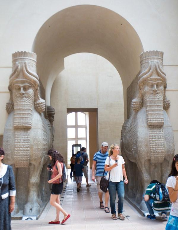 Cour Khorsabad Palace Of Sargon Ii Louvre