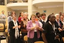 A group de participantes lors de l'Eucharistie d'ouverture de l'Assemblée généralde de 2016 a group de participants during the Eucharist opening the General Assembly 2016