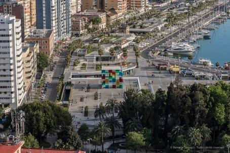 Centre Pompidou Malaga, 28 aprile 2015 - Nikon D810, 105mm (105.0mm ƒ/2.8) 1/400sec ƒ/9 ISO 500