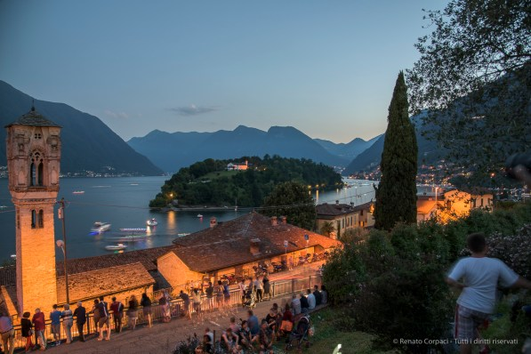 Isola Comacina. Ossuccio Lario, 27 luglio 2015. Nikon D810, 24.0mm (24.0-120 mm ƒ/2.8) 6.0sec ƒ/5.6 ISO 100