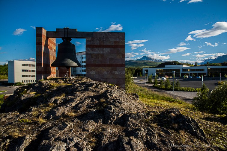 """ Islandsklukkan"" Iceland's Bell, rings at Akureyri University. Nikon D810, 24 mm (24-120.0 mm ƒ/4) 1/500 sec ƒ/20 ISO 1250"