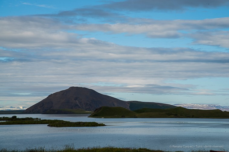 "In Icelandic, ""Lake Mývatn"" means ""lake mosquito"". Nikon D810, 120 mm (24-120.0 mm ƒ/4) 1/125 sec ƒ/11 ISO 64"