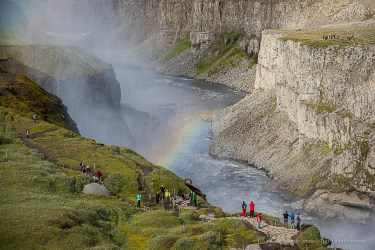 Dettifoss waterfall. Nikon D810, 95 mm (24-120.0 mm ƒ/4) 1/125 sec ƒ/6.3 ISO 64